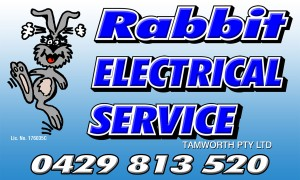 Rabbit Electrical Service - advertising